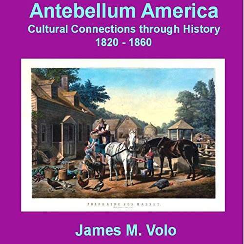 Antebellum America audiobook cover art