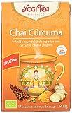 Yogi Tea Bio Chai Cúrcuma, 17 Bolsitas