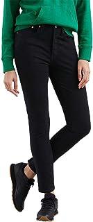 Calça Jeans Levis Feminina 501 Skinny Preta