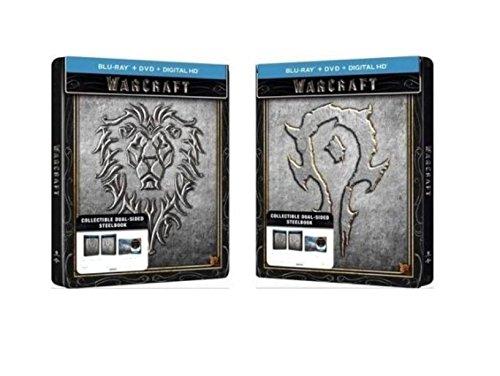 Warcraft Limited Edition Dual-Sided Steelbook (Blu-ray + DVD + Digital HD)