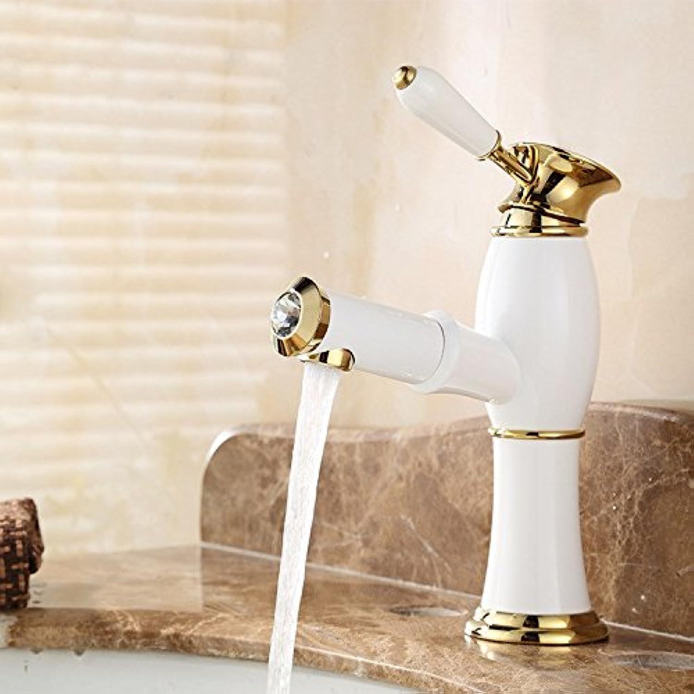 GAOQIANGFENG voller Kupfer Toilette kalt - hei waschen Kopf Becken ziehen Wasserhahn