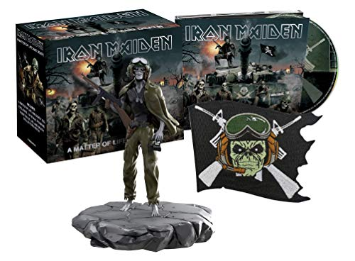 A Matter of Life and Death (Collector'S Edition CD & Eddie 1:24 Scale Figurine, Collectors Patch)