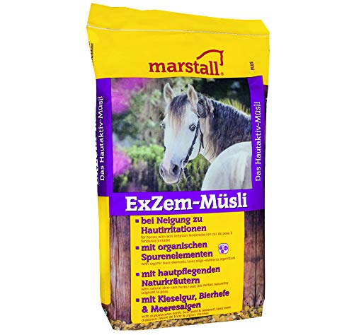 marstall Premium-Pferdefutter ExZem-Müsli, 1er Pack (1 x 15 kilograms)
