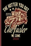 The Hotter You Got The Faster We CXome Firefighters Rescue Team 2020: The calendar 2020 for each fireman and friend of the fire brigade firefighter