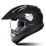 SXC Motocross Helmet Casco Motocross ECE Homologado Casco de Moto Cross para Mujer Hombre Adultos, Forro Extraíble y Lavable Adecuado para Motos Off-Road y Quads
