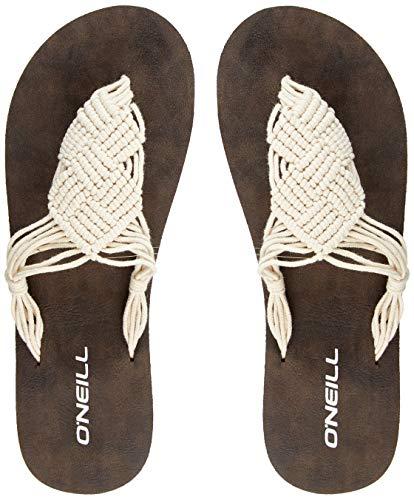O'Neill Damen FW Crochet Sandals Riemchensandalen, Weiß (Powder White), 42 EU