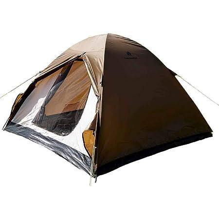 カナディアンイースト(Canadian East) アウトドア キャンプ テント ドーム型 軽量 組み立て簡単 UVカット 1人用/2~3人用
