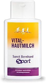 Sanct Bernhard Sport Vital-Hautmilch mit Rosskastanie, Hamamelis, Inhalt 500 ml