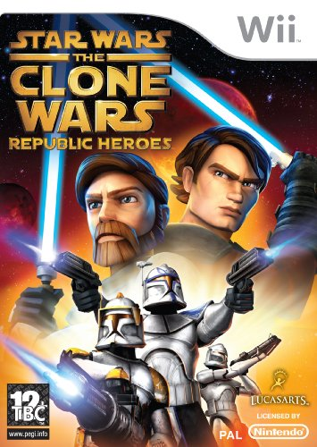 Star Wars: The Clone Wars - Republic Heroes (Wii) [import anglais]