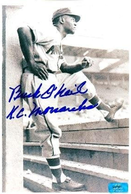 Autograph Warehouse 10641 Buck ONeil Autographed 8 x 10 Photo Kansas City Monarchs