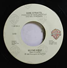 Dire Straits 45 RPM So Far Away / If I Had You