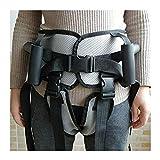 SSCYHT Cintura Trasferimento con Maniglie Ausilio per Deambulazione Posizione Eretta Cintura Imbottita Supporto Misura Regolabile per Anziani e Assistenza Ai Pazienti