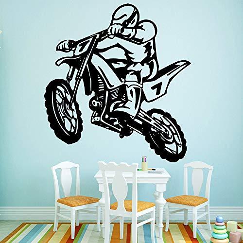 yaofale Motorrad Hauptdekoration Aufkleber Vinyl Wandkunst Aufkleber Vinyl Wand