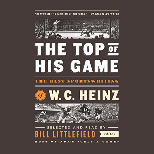 The Top of His Game audiobook cover art