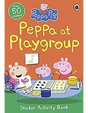 Peppa Pig: Peppa at Playgroup Sticker Activity Book