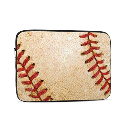 KXT Baseball Stitches Dirty Laptop Sleeve,Carrying Bag Chromebook Case Notebook Bag Tablet Cover