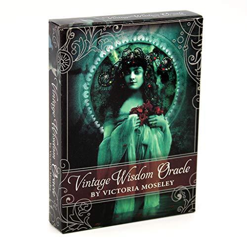 Vintage Weisheit Oracle 52 Karten Tarot, Deck Divination Fate Game, Englisch Für Family Party Brettspiel