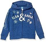 Spotted Zebra Disney Star Wars Marvel Princess Fleece Zip-up Hoodies Kapuzen-Sweatshirt, Frozen 2 Sisters, S