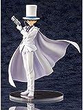 Detective Conan Kid The Phantom Ladrón Postura Posure Postura Anime Modelo PVC Estatua Estatua Figura D Anime Oficina Adornos Regalos / Juguetes para Adultos Adecuados para Fans Abiertas