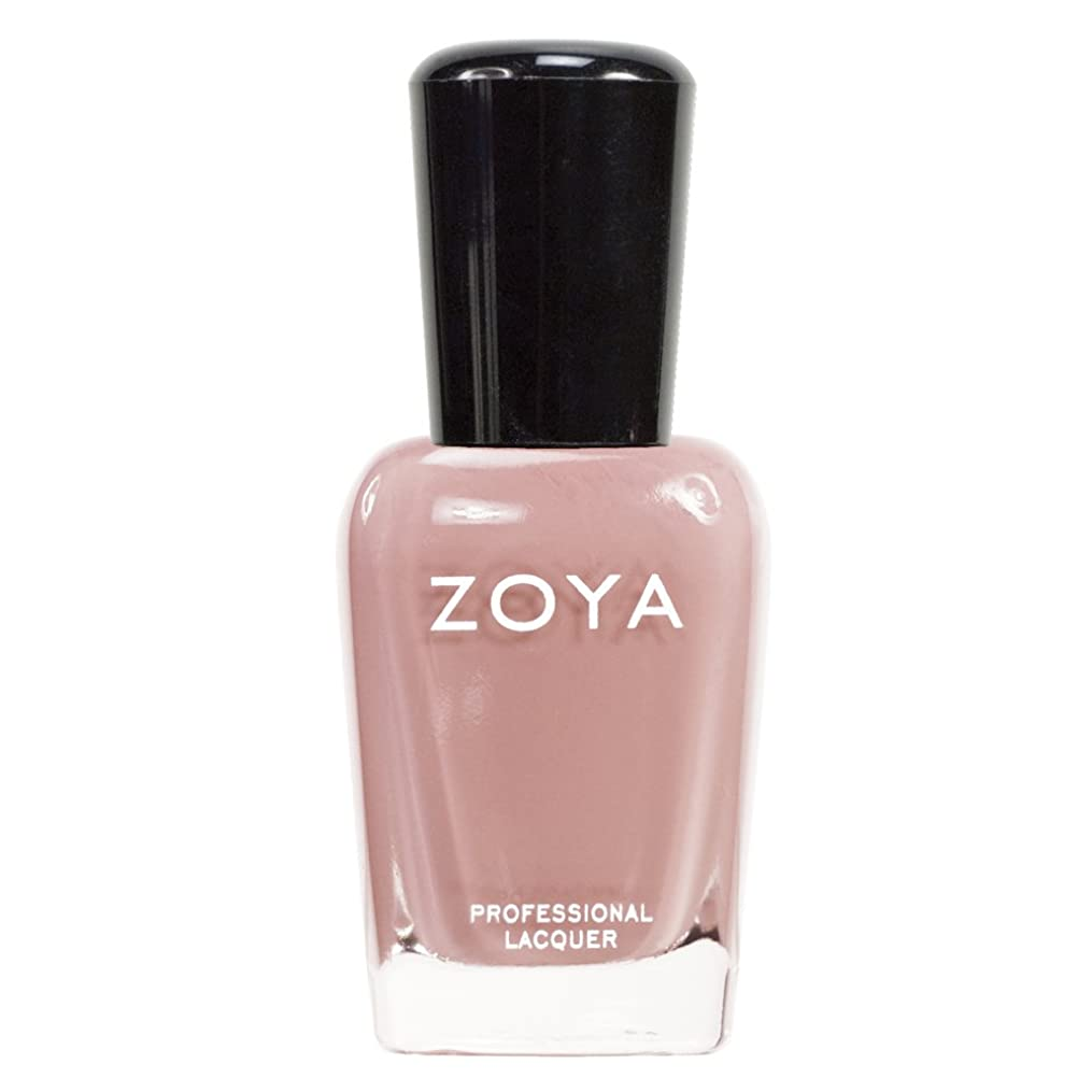 叫ぶストッキング邪悪なZOYA ゾーヤ ネイルカラーZP380 AMANDA アマンダ  15ml 上品なスモーキーなピンク マット 爪にやさしいネイルラッカーマニキュア