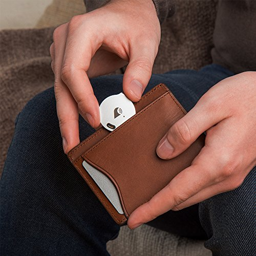 TrackR bravo - Bluetooth Tracking Device. Item Tracker. Phone Finder. iOS/Android Compatible....