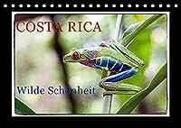 Costa Rica - Wilde Schoenheit (Tischkalender 2022 DIN A5 quer): Costa Rica, die reiche Kueste (Monatskalender, 14 Seiten )