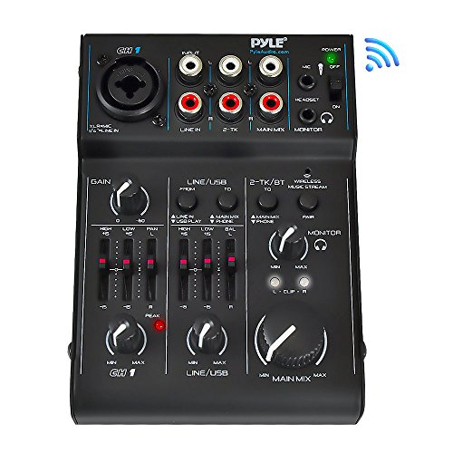 Buy Cheap 3 Channel Bluetooth Audio Mixer - DJ Sound Controller Interface with USB Soundcard for PC ...