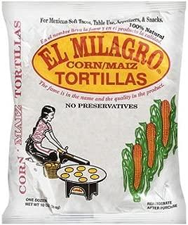 El Milagro Corn Tortillas (24 Packs) Tortillas de Maiz