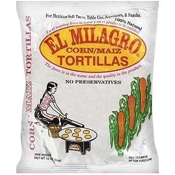 El Milagro Corn Tortillas  24 Packs  Tortillas de Maiz