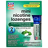 Rite Aid Mint Nicotine Lozenges, 2mg - 81 Lozenges | Quit Smoking Products