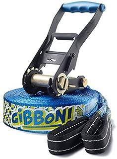 ギボンSlackラインFun Line x13イエロー/ブルーby Gibbon