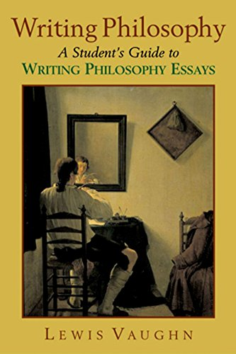 Writing Philosophy: A Student's Guide to Writing...