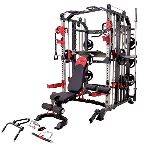 Buy Cheap MiM USA Hercules 1001 Full Gym Set of Commercial Smith Machine Functional Trainer Power Ca...