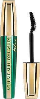 L'Oréal Paris Volume Million Lashes Feline Mascara, zwart, voor maximaal 3 x meer volume en optisch gecomprimeerde wimpers...