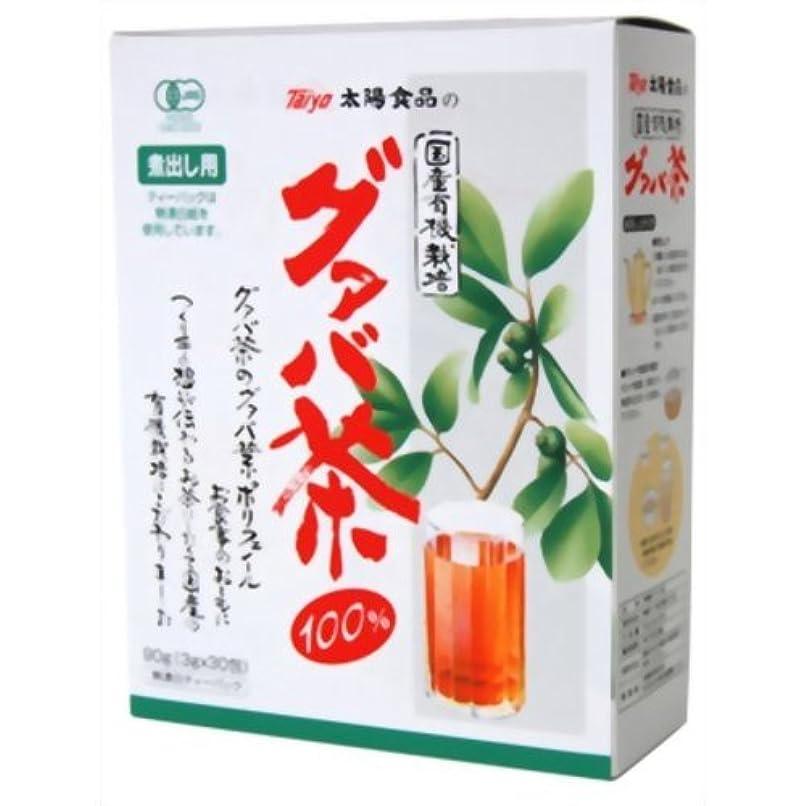 決定メッセージヒゲ国産有機栽培グアバ茶 3gX30包