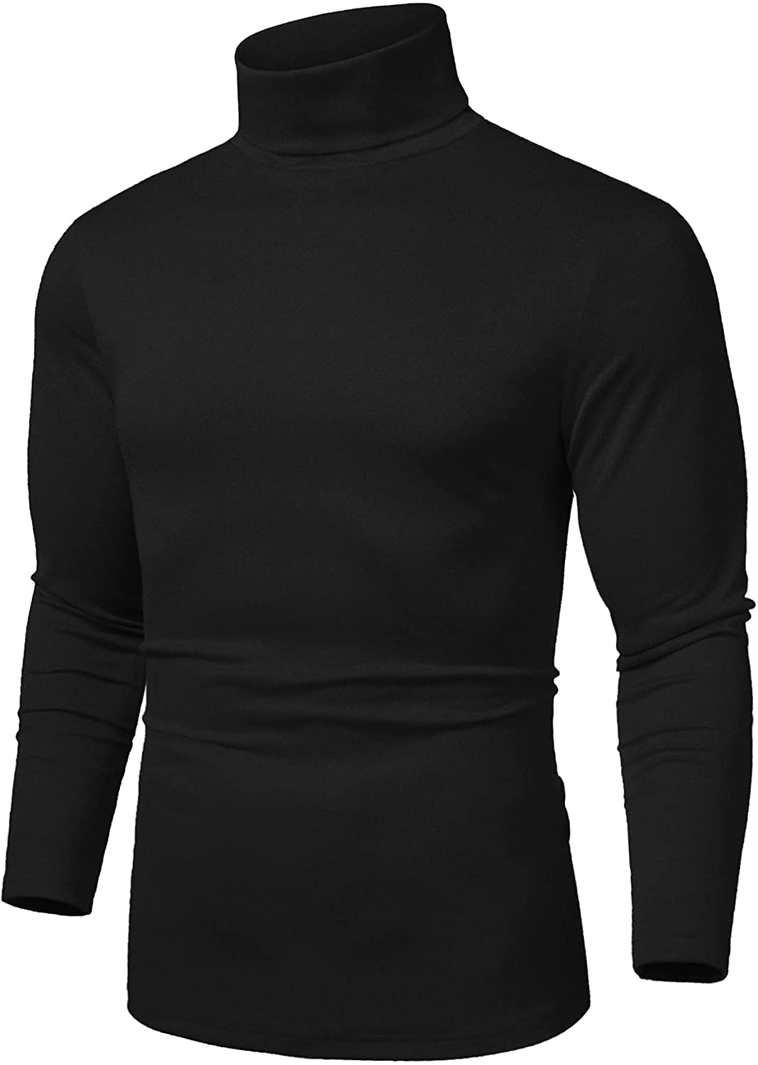 COOFANDY Men's Free Shipping Cheap Bargain Gift Slim Fit At the price of surprise Basic T Thermal Shirts Turtleneck Casual