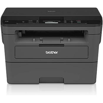 Brother DCPL2510D Stampante Multifunzione Laser senza Fax, Bianco e Nero, Velocità di stampa 30 ppm, Stampa Fronte/Retro automatica, Interfaccia USB (no Rete, no WiFi), Display LCD