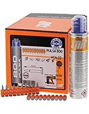 057550 Spit Pulsa 800P+ HC6 15 Pins - HC6 Pins - Hard Beton (>C25) en Stalen Substraten
