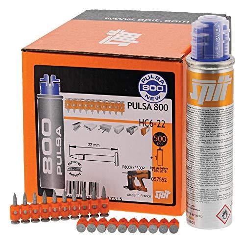 ITW Spit Nägel für Pulsa 800 HC6-15(VE500)#057550 Nagel für Nagelgerät 3439510575505