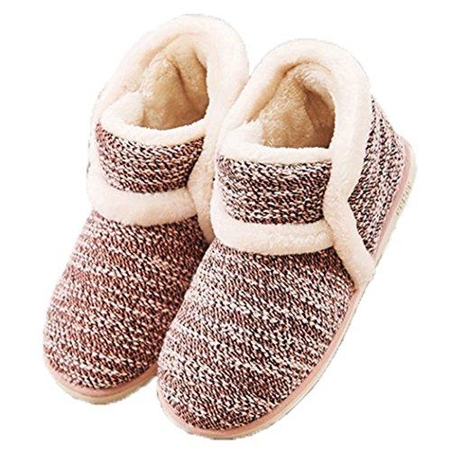crochet house shoes - 2