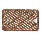 51 diseños en Coco & Coir y Eco Animal Pattern Color Navidad Divertido felpudo de puerta … (hierro corazón)