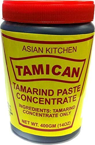 Asian Kitchen Tamarind Concentrate 16oz (454g) 1lb ~ Gluten Free, No added sugar | All Natural | Vegan | NON-GMO | No Colors | Indian Origin