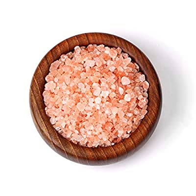 The Spice Lab Pink Himalayan Coarse Salt - Gourmet Pure Crystal - Nutrient and Mineral Fortified for Health - Kosher and Natural Certified