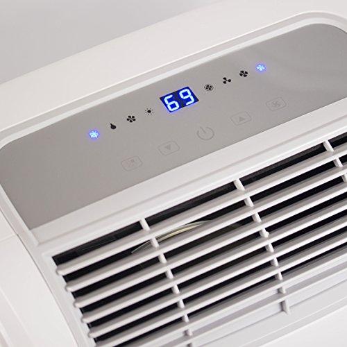 BLACK+DECKER BPACT08WT Portable Air Conditioner, 8,000 BTU, White