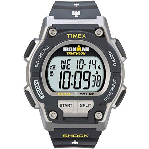 Timex Orologio Digitale al Quarzo Uomo con Cinturino in Resina Ironman...