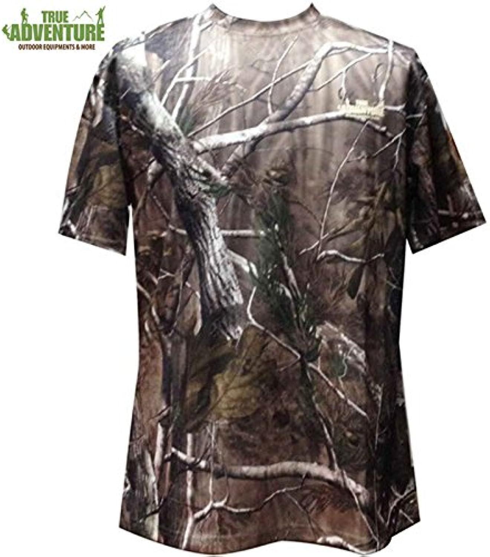 ShopSquare64 True Adventure Men Hunting TShirt Summer Breathable Jersey