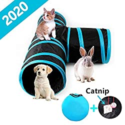 Cat & Kittens Toy with Interactive Intelligence Track Ball Tower