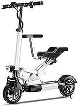 LMCLJJ De Aluminio Ligero de la Bici eléctrica Plegable Ciudad de Bicicletas de montaña Booster Ebikes de Bicicletas Todo Terreno (Color : 60km)