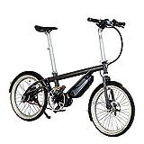 Bernds Bicicleta eléctrica compacta – Cambio Shimano de 8 velocidades – Bicicleta eléctrica City E-Bike de 20 pulgadas – Fabricado en Alemania