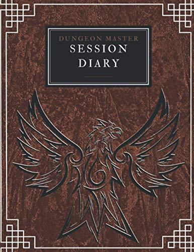 Dungeon Master Session Diary: (200 pages) RPG session journal with 5e initiative tracker